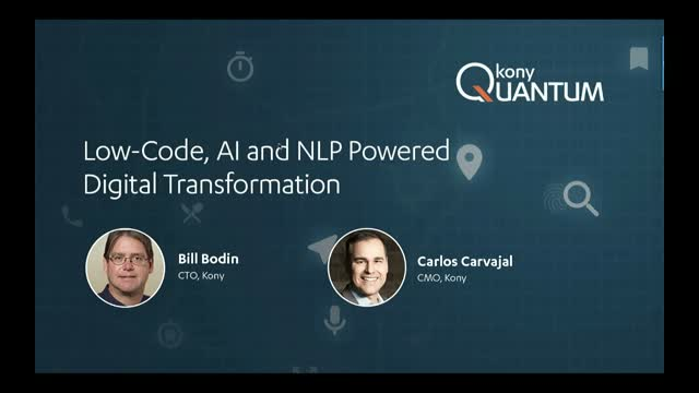 Low-Code, AI & NLP Powered Digital Transformation