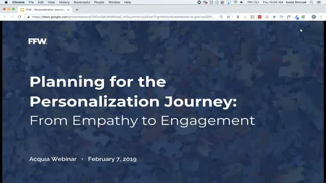 Planning for the Personalization Journey: From Empathy to Engagement