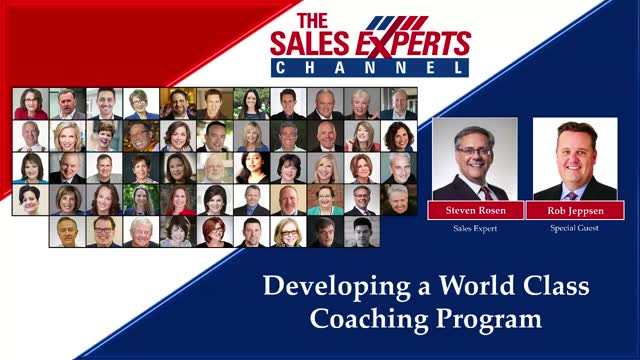 Sales Management: Fireside Chat - Developing a World Class Coaching Program