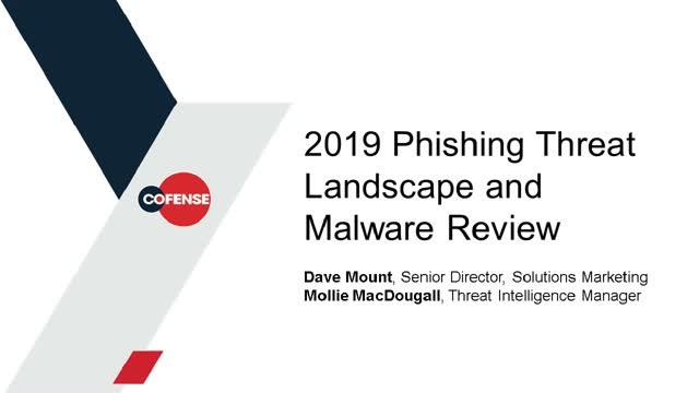 2019 Phishing Threat Landscape: Real Phish Remain the Real Problem