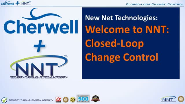 NNT ITSM Integration for Cherwell