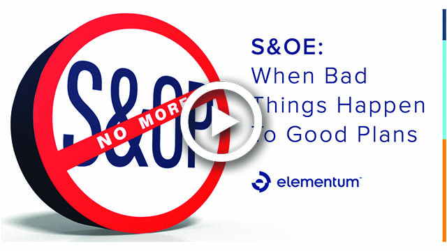 S&OE: When Bad Things Happen to Good Plans