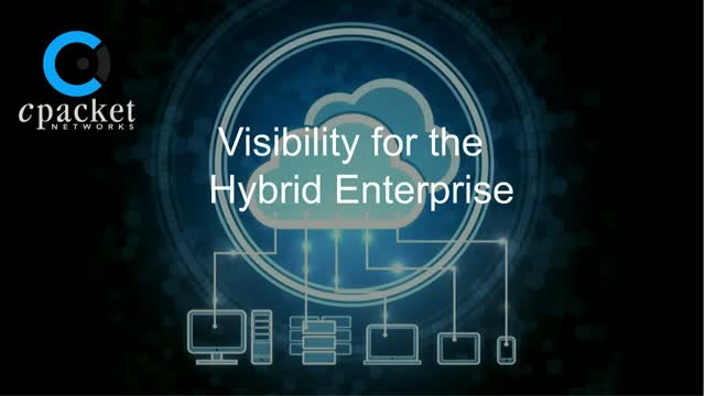 Visibility for the Hybrid Enterprise (Digital Experience Monitoring)