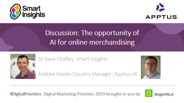 Discussion: The opportunity of AI for online merchandising