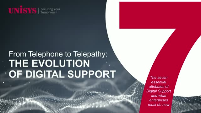 From Telephone to Telepathy – The Evolution of Digital Support