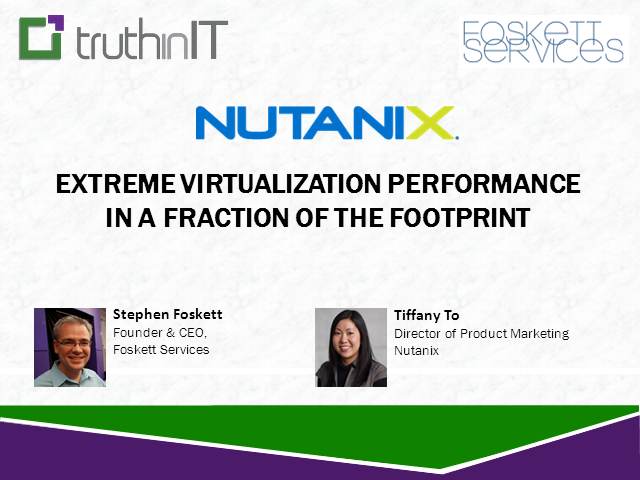 Extreme Virtualization Performance  in a Fraction of the Footprint
