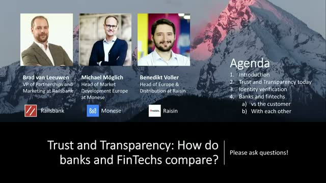 Trust and Transparency: How do banks and FinTechs compare?