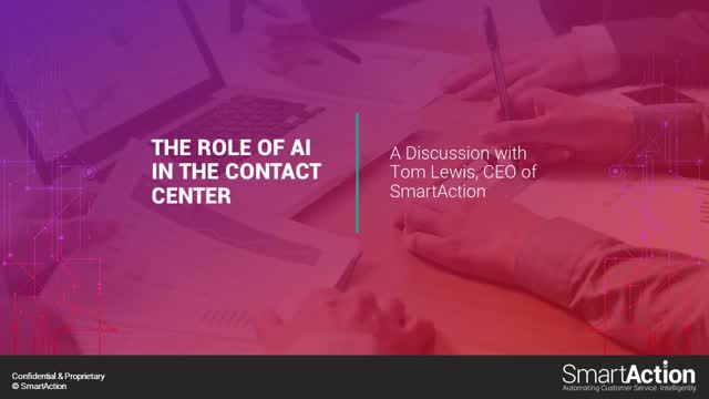The Role of AI in the Contact Center