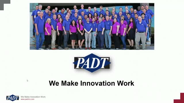 PADT Company Overview, May 2019