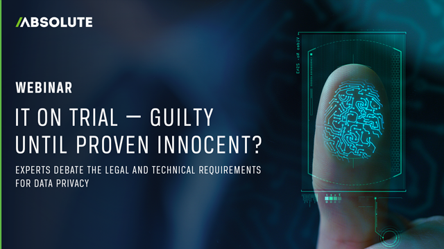 IT on Trial — Guilty Until Proven Innocent? [PANEL DISCUSSION]