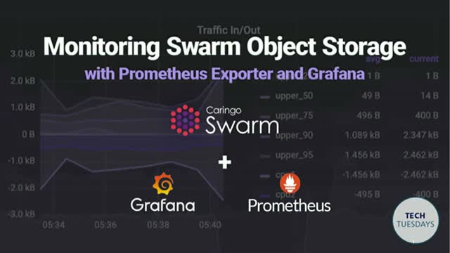 TechTuesday: Monitoring Swarm Object Storage Using Prometheus Exporter & Grafana