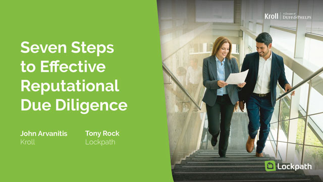 Seven Steps to Effective Reputational Due Diligence
