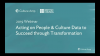 Acting on people & culture data to succeed through transformation