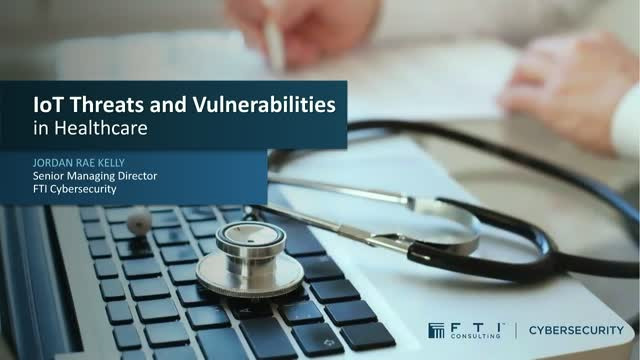 IoT Threats & Vulnerabilities in Healthcare