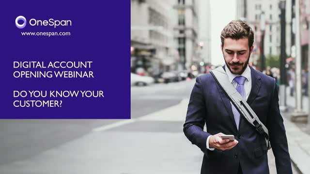 Account Opening: Do You Know Your Customer?
