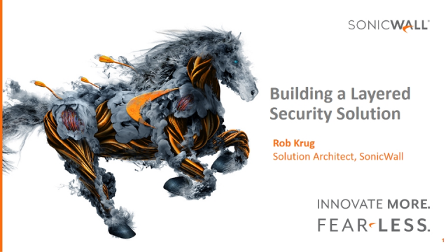 Building a Layered Security Solution