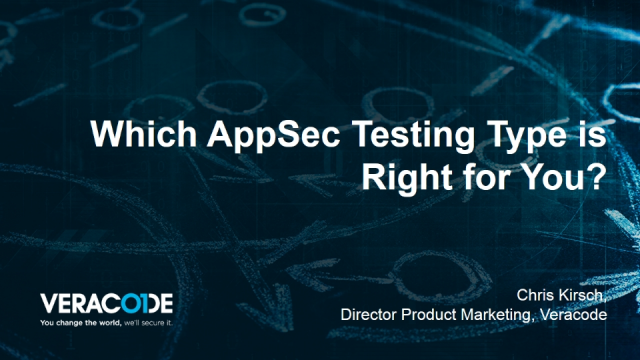 Which AppSec Testing Type is Right for You?