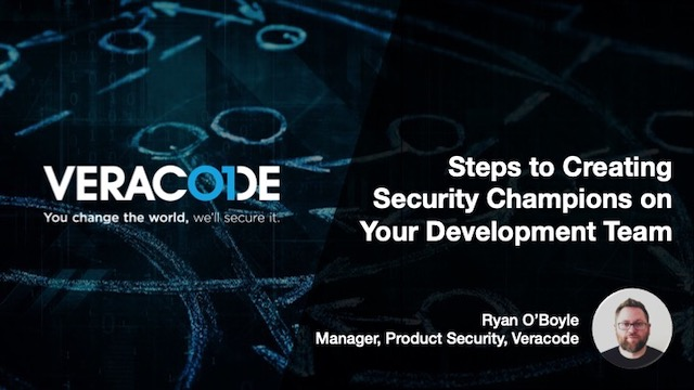 Steps to Creating Security Champions on your Development Team