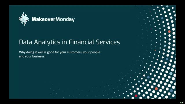 Data Analytics in FinServ: Good for Your Customers, Your People & Your  Business