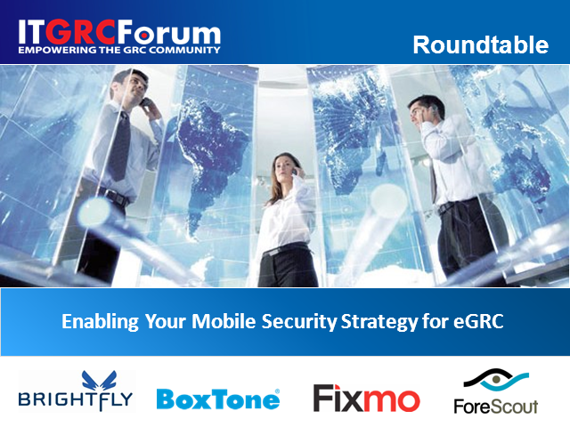 Enabling Your Mobile Security Strategy for eGRC