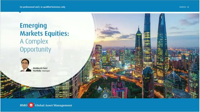 Emerging Market Equities: a complex opportunity