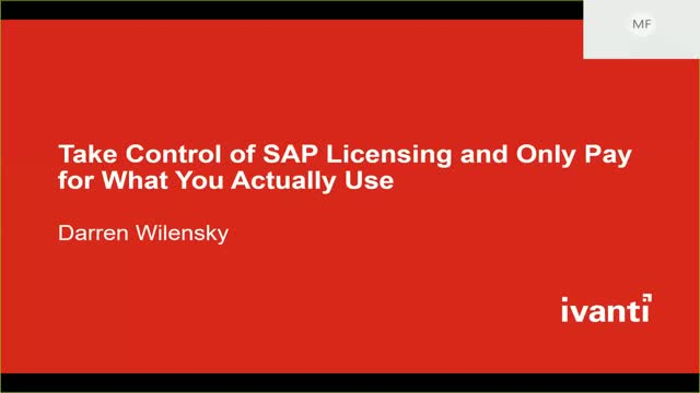 Stop Overpaying, Take Control of SAP Licensing and Only Pay for What You Actuall