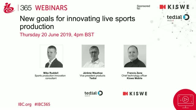 New goals for innovating live sports production