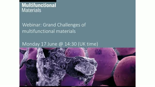 Grand challenges of multifunctional materials