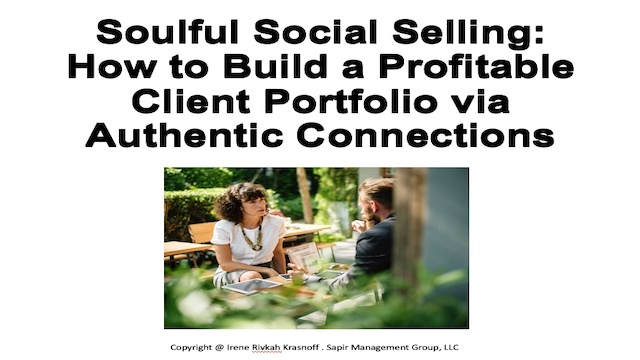 How to Build a Profitable Client Portfolio via Authentic Connections
