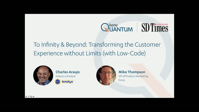 Transform the Customer Experience without Limits (with Low-Code)