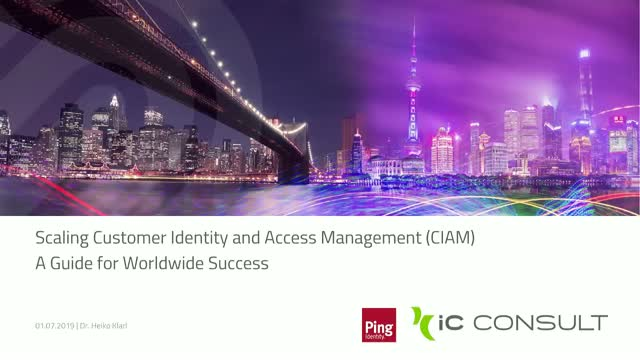 Scaling CIAM - A Guide for worldwide Success