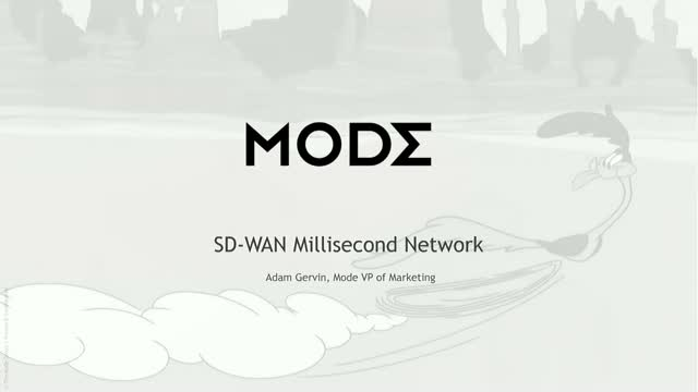 SD-WAN Millisecond Network