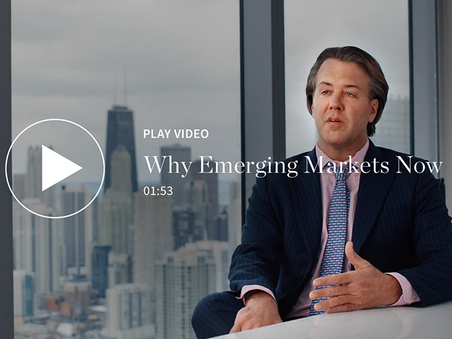 Why Emerging Markets Now