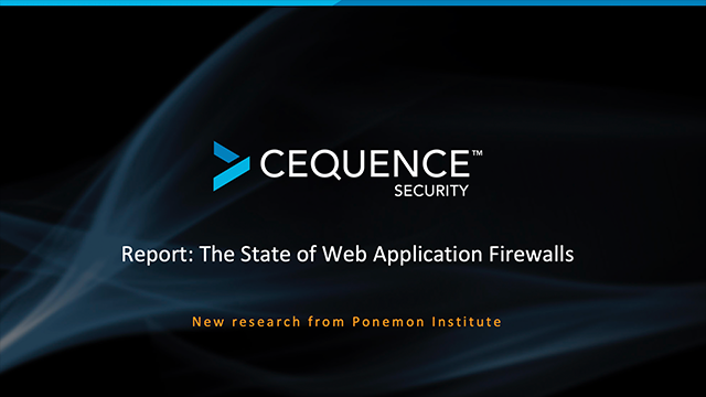 New Report: The State of Web Application Firewalls