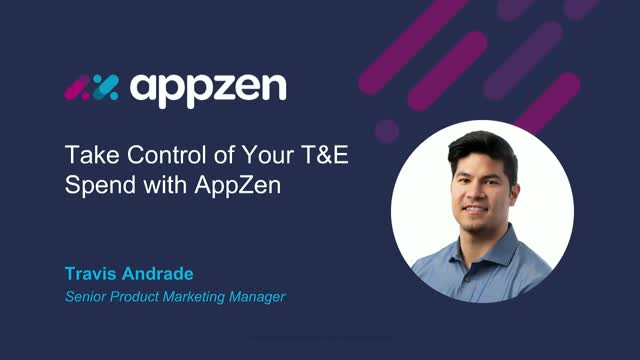 Take Control of Your Travel & Expense Spend with AI and AppZen