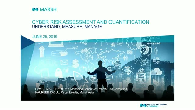 Cyber Risk Assessment and Quantification - Understand, Measure, Manage