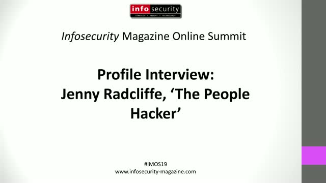 #IMOS19 EMEA Profile Interview: Jenny Radcliffe, 'The People Hacker'