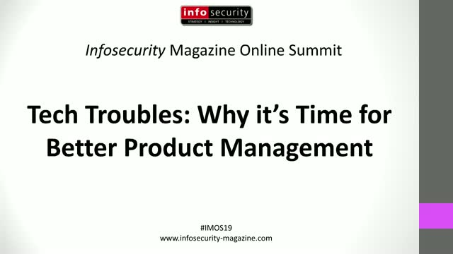 #IMOS19 Tech Troubles: Why it's Time for Better Product Management