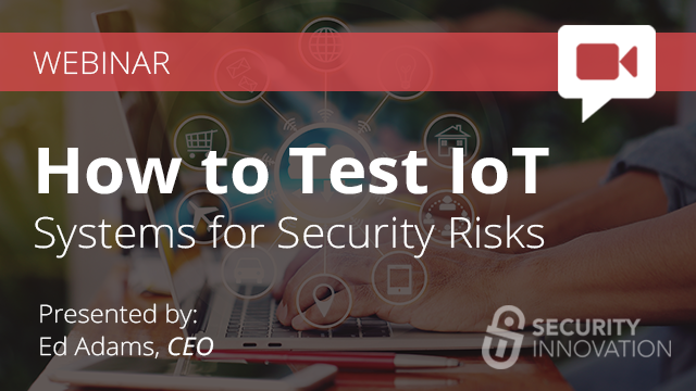 Risk-Based Testing for IoT Systems