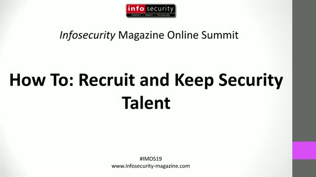 #IMOS19 - How To: Recruit and Keep Security Talent