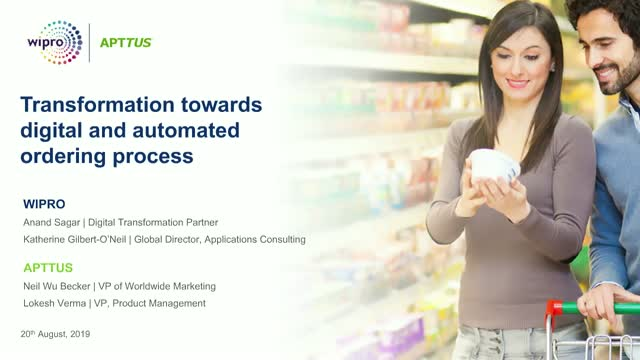 Transformation towards digital and automated ordering process