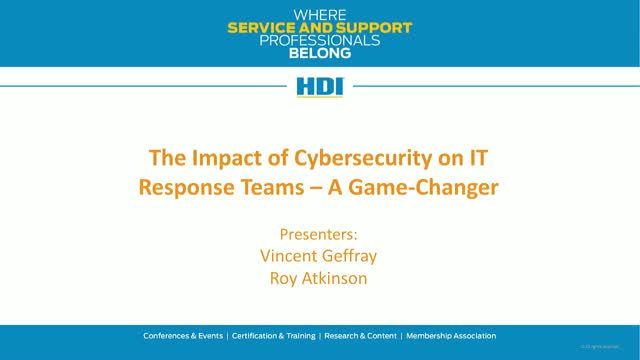 The Impact of Cybersecurity on IT Response Teams: A Game Changer!