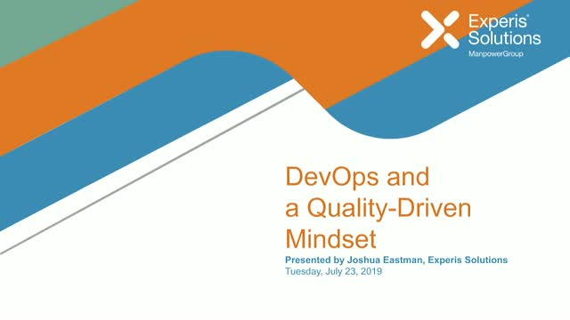 DevOps and a Quality-Driven Mindset