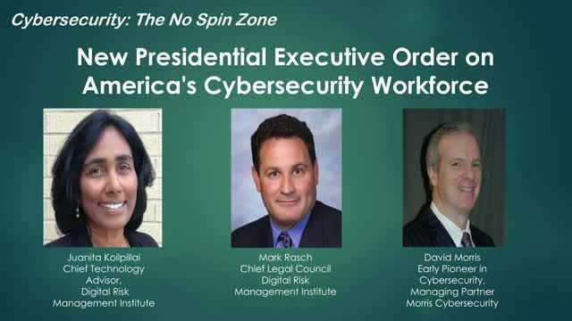 New Presidential Executive Order on America's Cybersecurity Workforce