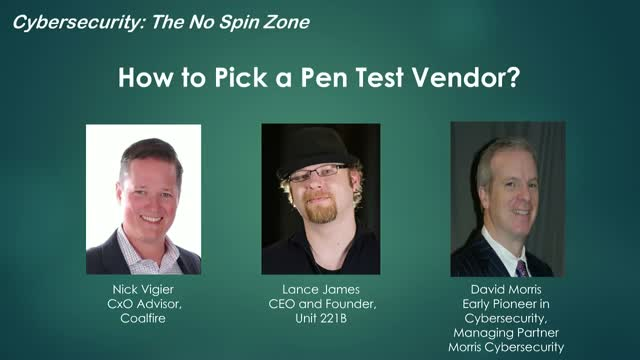 How to Pick a Pen Test Vendor?