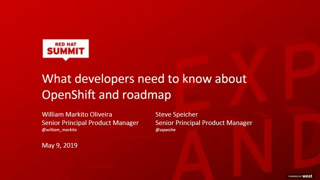 What Developers Need to Know About OpenShift and Roadmap