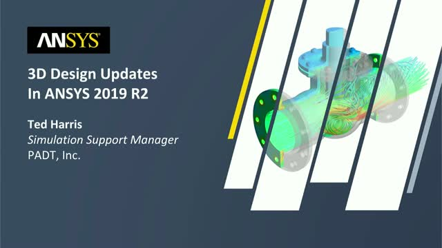 3D Design Updates in ANSYS 2019 R2