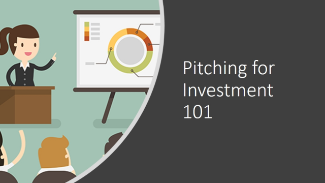 Pitching for Investment 101