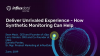 Deliver Unrivaled End User Experience - How Synthetic Monitoring Can Help