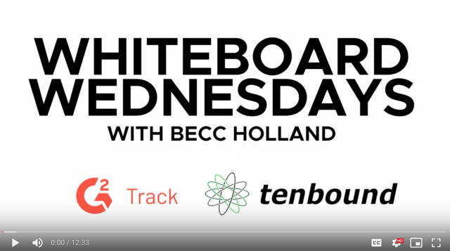 Whiteboard Wednesdays with Becc Holland